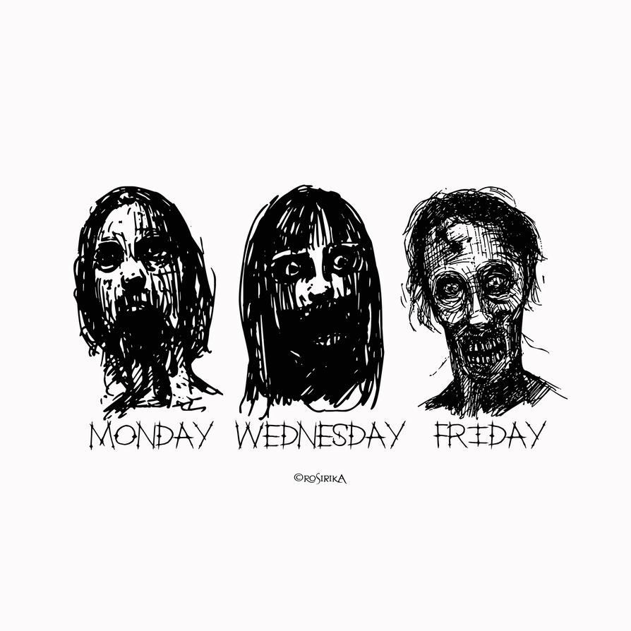 Weekly Moods by Rosirika