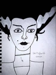 Bride of Frankenstein by Rosirika