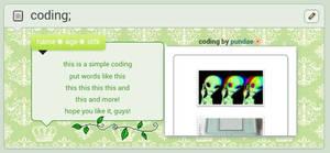 green stuffs .f2u. by pundae
