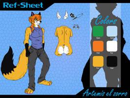 Artemis reference by Artemisthefox