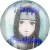 Haku Birthday Snow Button by Degration