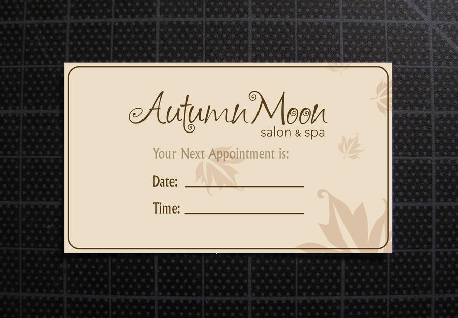Autumn Moon Salon Business Card Back (After) by skulaga on DeviantArt