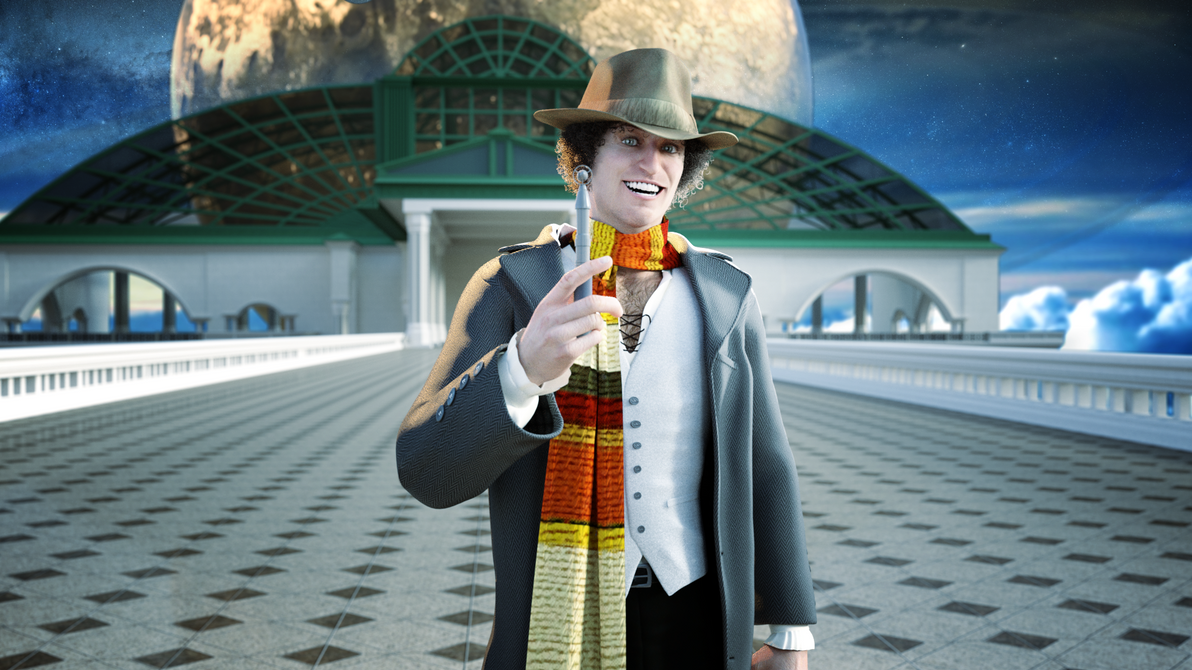 The 4th Doctor by Gabriel-C