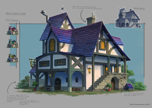Medieval House Prop