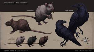 Goya's Head Project: Animal Design 2