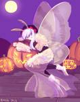 Miss Oc Halloween round - Iskai