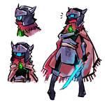 Hyper Light Drifter protagonist