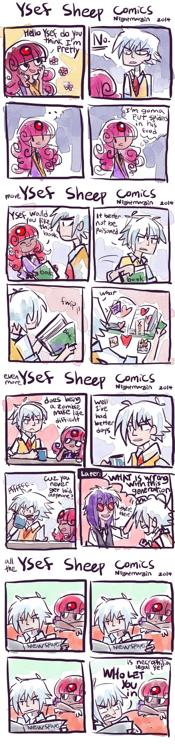 Ysef Sheep comics by NightMargin