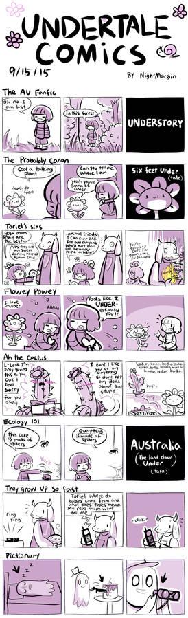 UNDERTALE COMICS
