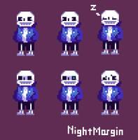 Sans pixel by NightMargin