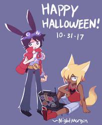 Halloween 2017 by NightMargin