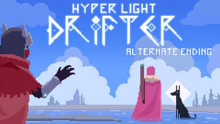 Hyper Light Drifter but it's the good ending