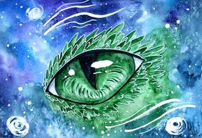 Dragon Eye by Kyyraneth