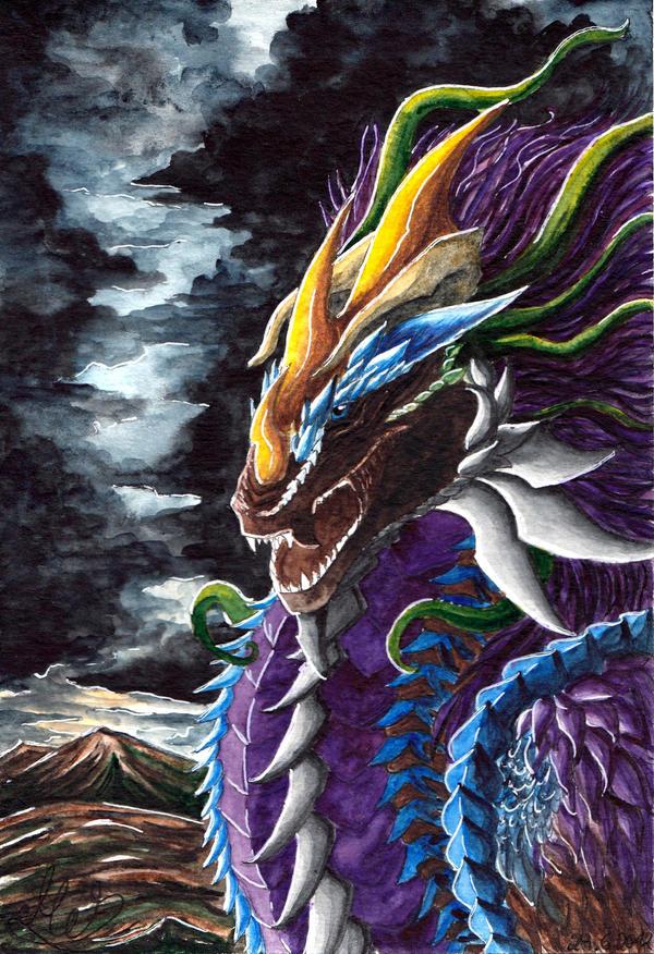 [PC] Zeitgeist Dragon by Kyyraneth