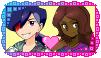 Pokemon Stamp: Tierno and Keyonna love