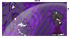 lilyana the nighthog Stamp Commission by sonicnextgen24