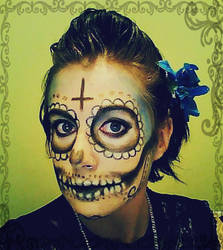 day of the dead by shalynnlee