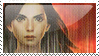 Katniss Everdeen Stamp by Dancerwind