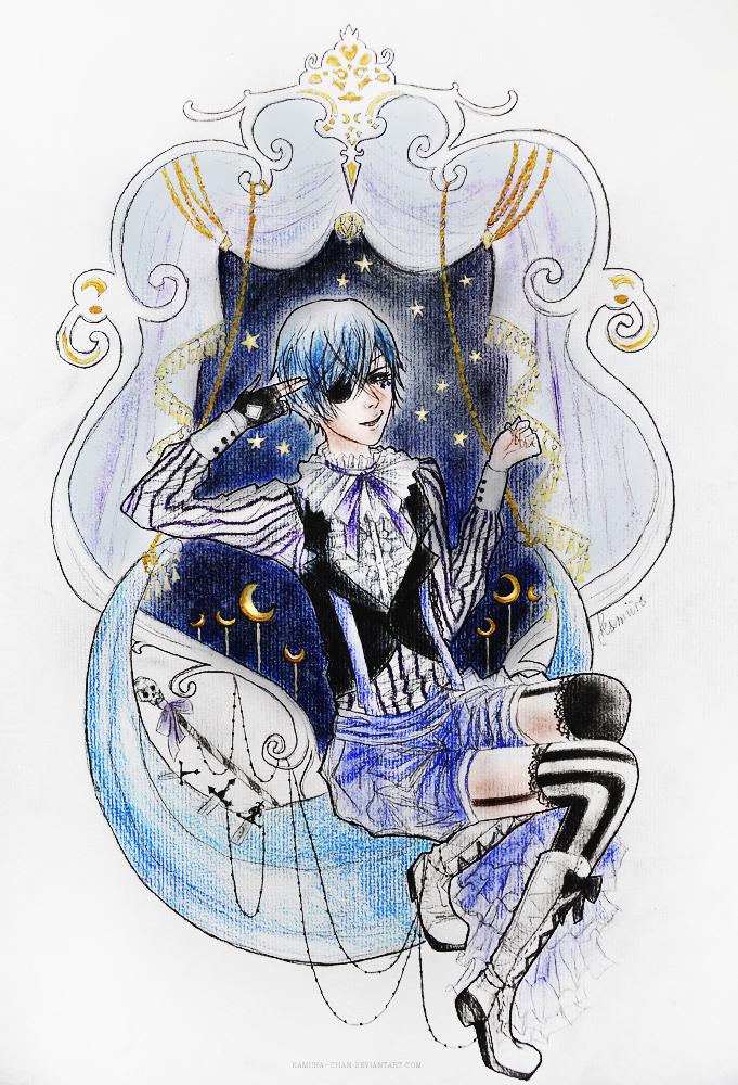 Ciel in the Moondust by kamiira-chan