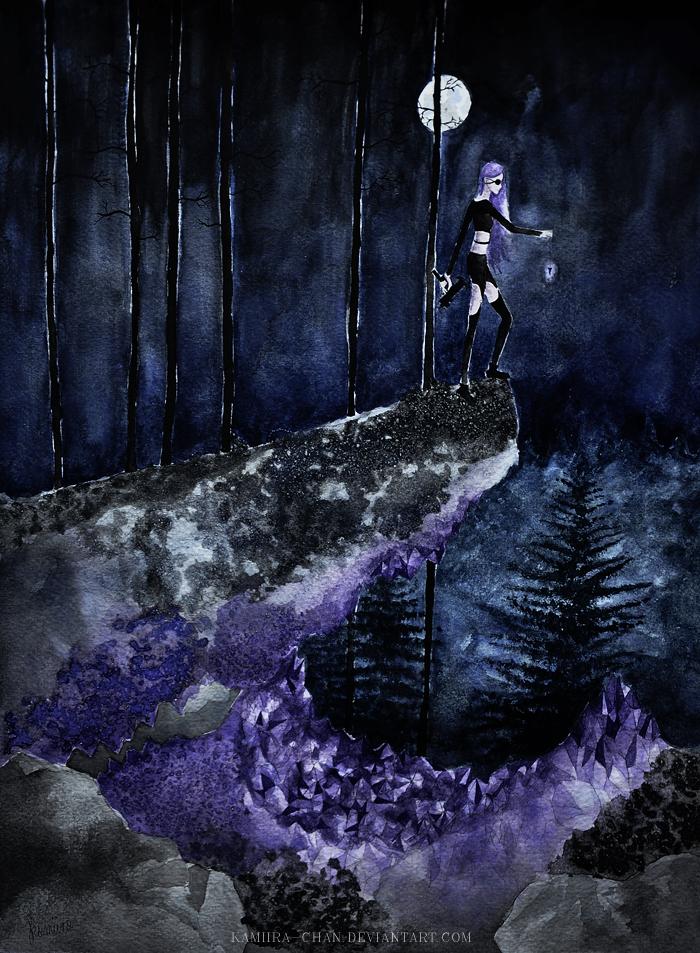 Full Moon by kamiira-chan