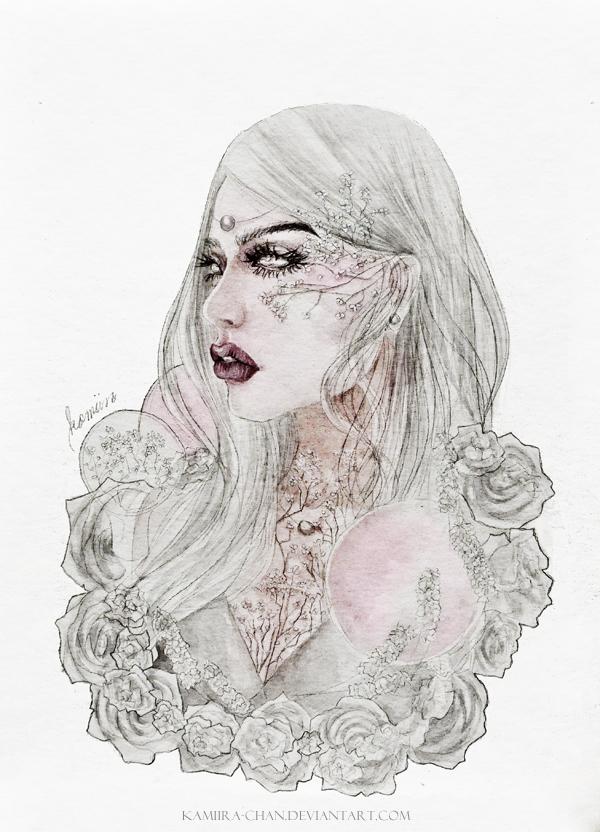 deathless goddess by kamiira-chan