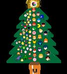 Super Smash Bros. Ultimate's Christmas Tree.