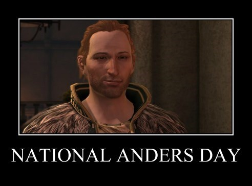 National Anders Day by LittleRedHead54