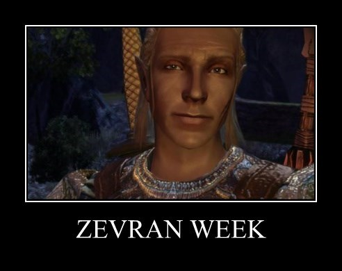 Zevran Week by LittleRedHead54