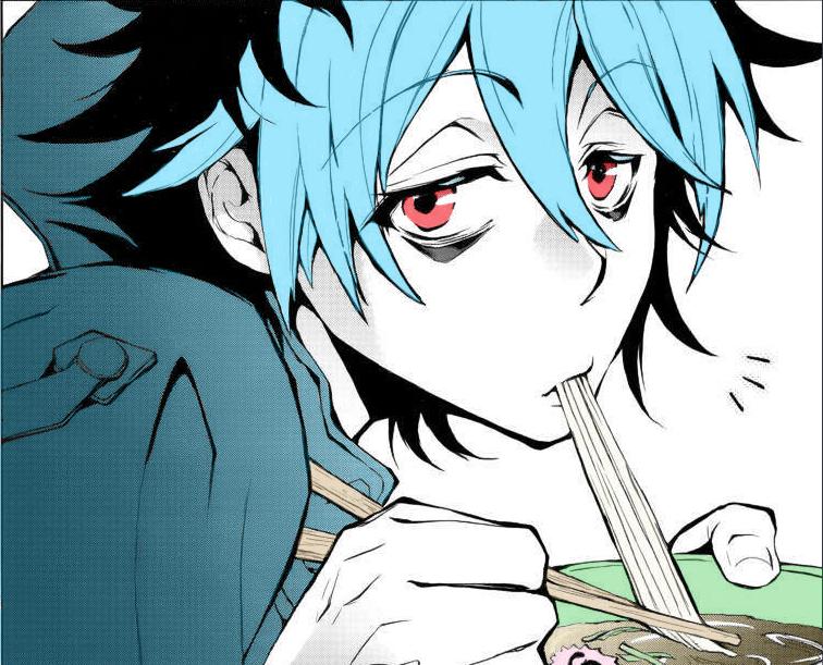 Sleepy Ash/Kuro ~ Servamp by LittleRedHead54