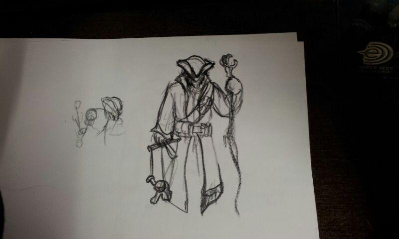 Medieval Puppeteer Warlock by demonmambo