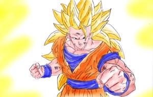 Goku SSJ3 By Andy Foden :D by pete-tiernan