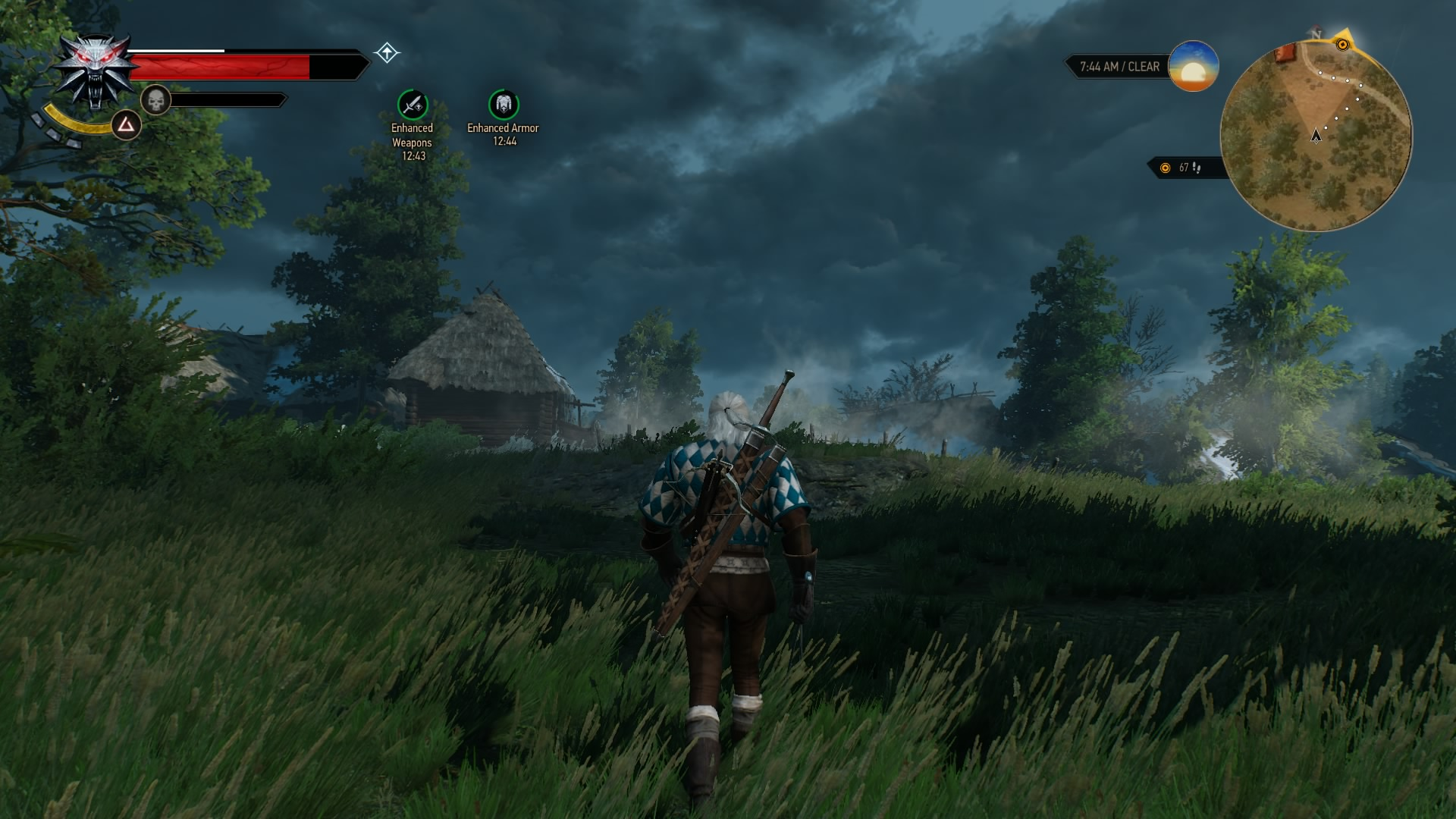 how to show ps buttons the witcher 3