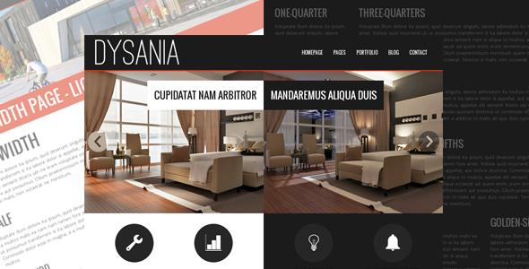 Dysania- Responsive Multi-Purpose HTML Template by egemenerd