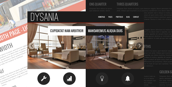 Dysania - Responsive Multi-Purpose Wordpress Theme by egemenerd