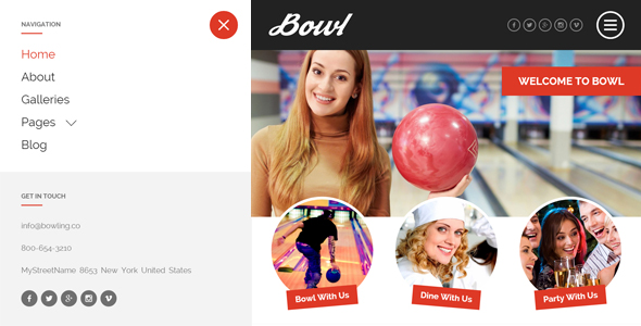 BOWL - Responsive Bowling Center HTML Template by egemenerd