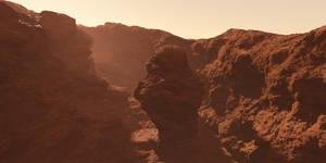 Martian Canyon WIP 2 by nvseal