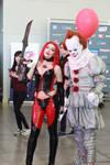 Comic con Russia 2018 BloodRayne/Peniwise