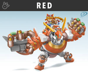 Smashified - Red Savarin for Super Smash Bros