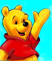 Winnie the Pooh by zdrer456