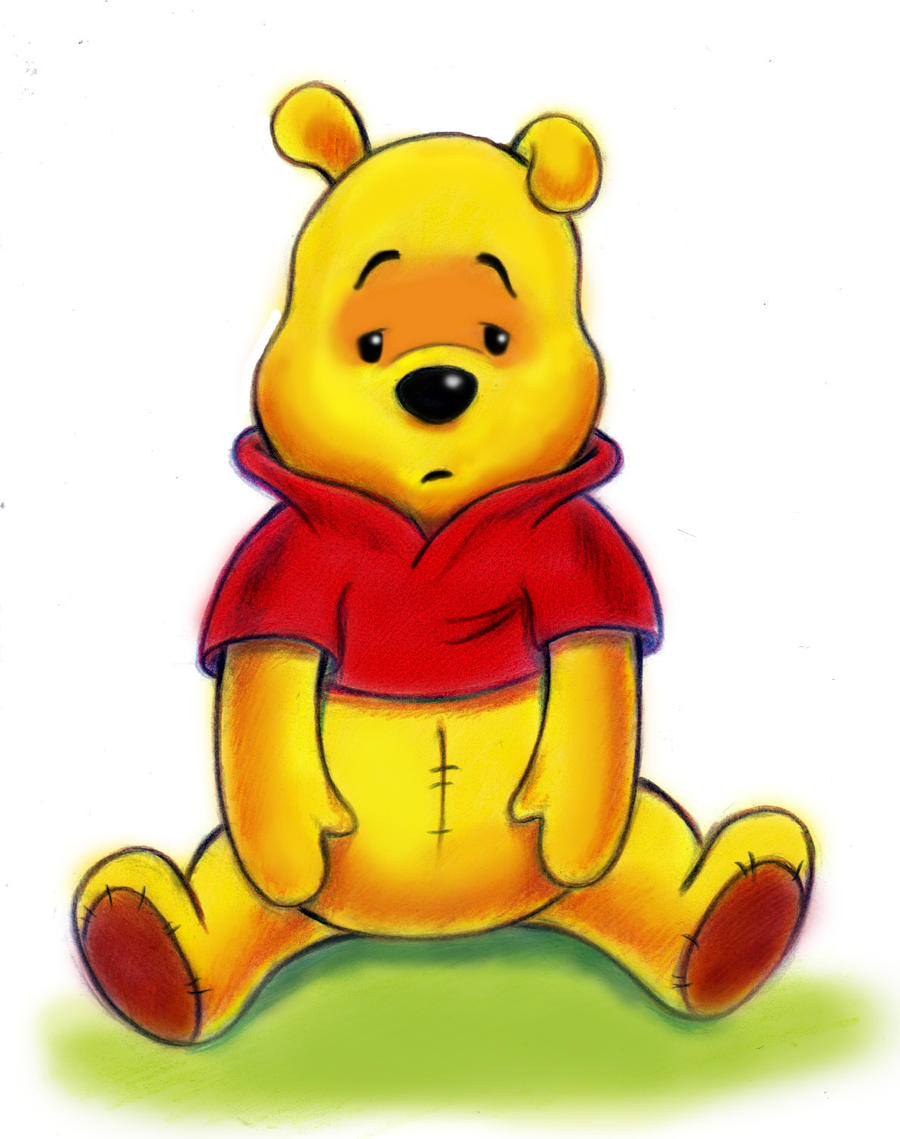 It's just a picture of Tactueux Images of Pooh Bear