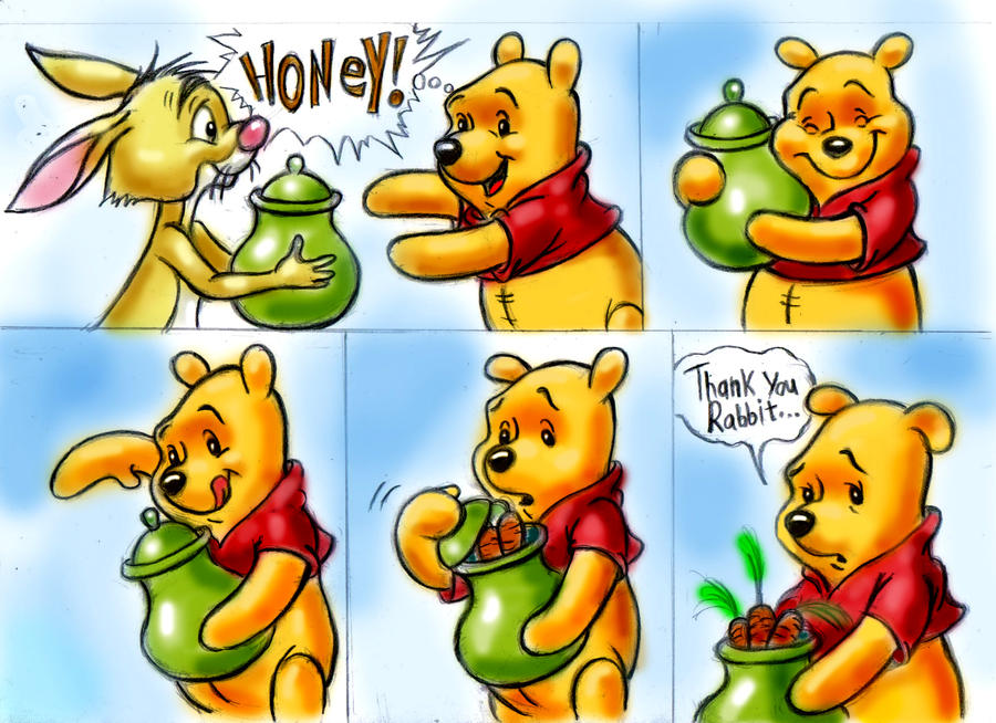 Surprise For Winnie The Pooh By Zdrer456 On Deviantart