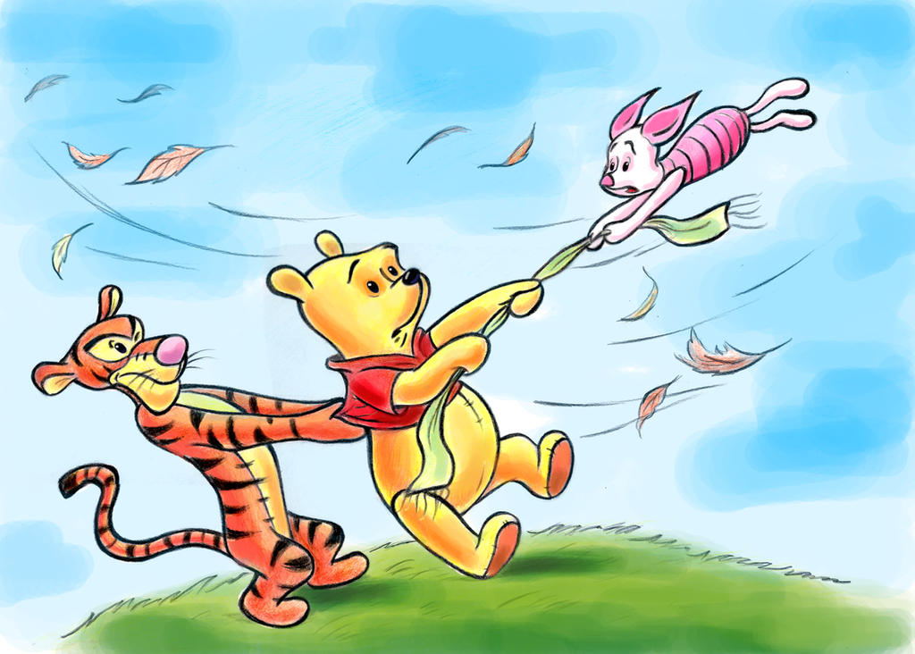winnie the pooh and the blustery day by zdrer456 on deviantart rh deviantart com Winnie the Pooh Valentine's Day Duluth Day Winnie the Pooh