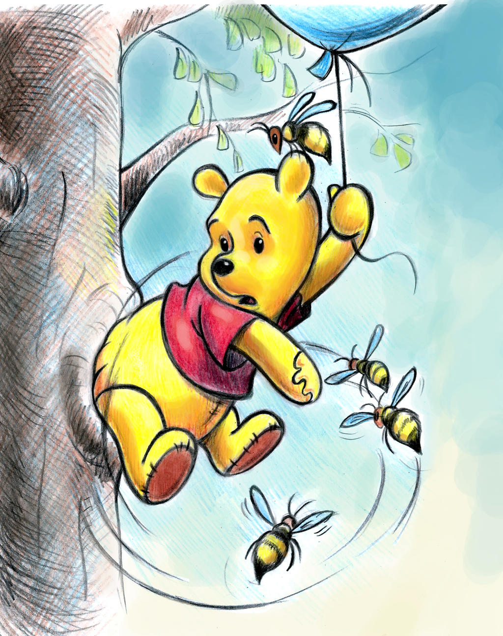 how to get honey from tree