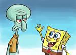SpongeBob and Squidward