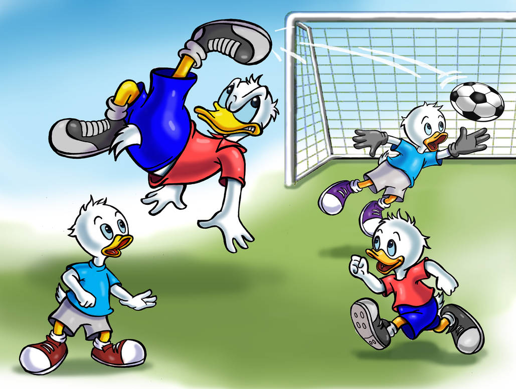 donald_duck_and_nephews_by_zdrer456_dd0r
