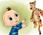 Tigger and the Baby