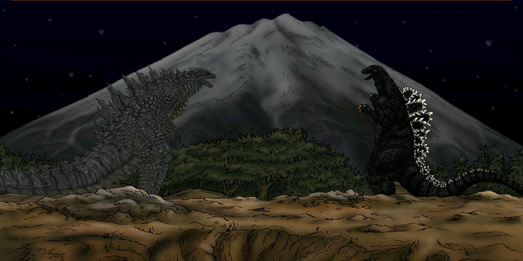 Japan vs America! Godzilla 1994 vs Godzilla 2014! by JPfan101 on