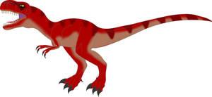 Jurassic Park Tyrannosaurus- novel variant