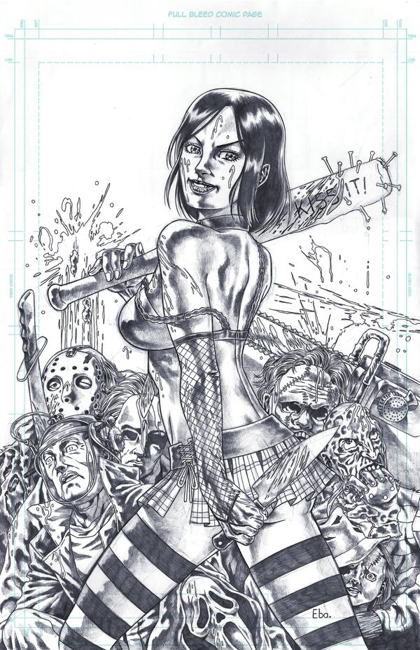 Now Who's Your MAMA!(Cassie from Hack/Slash) by Ebayson