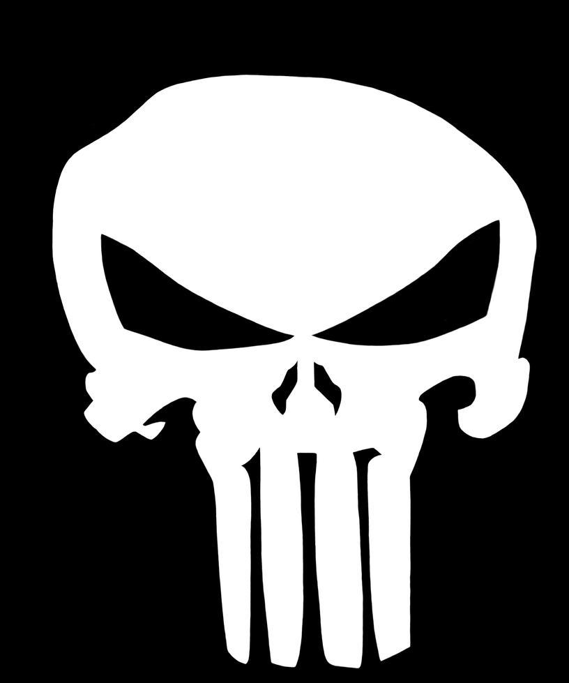 The Punisher Skull Logo by Krovash